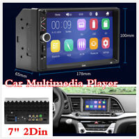 Car Stereo FM Radio MP5 Multimedia Player BT Mirror Link USB TF card Aux Audio