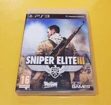 Sniper Elite 3 III GIOCO PS3 VERSIONE ITALIANA
