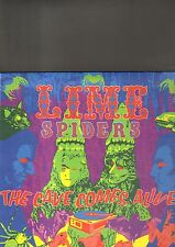 LIME SPIDERS - the cave comes alive LP