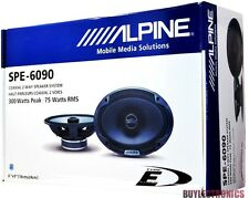 "Alpine SPE-6090 6""x9"" Car Speakers/6x9-Inch 2-Way Car Audio Speaker Type E"