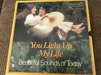 YOU LIGHT UP MY LIFE READERS DIGEST BOXED SET OF 8 RECORD ALBUMS; 1980