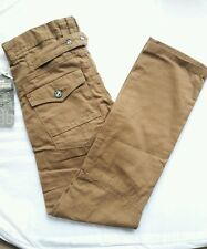 MENS BRANDED CROSSHATCH JEANS_CHINO STYLE_STRAIGHT LEG_W28_L32_BOYS-100% COTTON