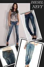 "Mesdames DIESEL NEVY 008C2 Stretch conique SKINNY WOMAN W27 L32 Taille 8 32""leg"