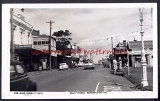 Main Street, MORNINGTON, Vic, AUSTRALIA. Vintage Real Photo Postcard, 1950s