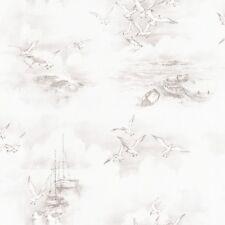 Essener Tapete Global Fusion G56424 möven Sea Beach Boat Fleece Wallpaper