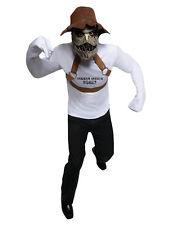"""Épouvantail homme batman scarecrow costume, standard, tour de poitrine 44"""""""