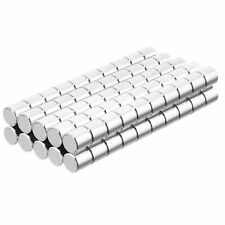 316 X 316 Inch Neodymium Rare Earth Cylinder Magnets N48 100 Pack