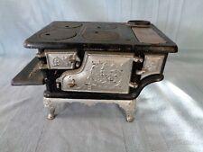 "Antique Cast Iron Toy Stove ""Bird"""