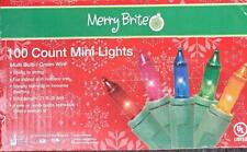 Merry Brite Christmas Lights Multicolor- 100