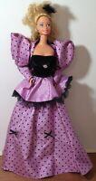 Mardi Gras Barbie Doll by Mattel 1987 Lavender Gown VINTAGE