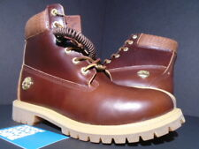 "TIMBERLAND 6"" INCH BOOT JUNIOR BROWN BEIGE WHEAT LEATHER WATERPROOF TB0A1PLD 7"
