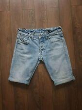 G-Star Raw Men's Denim Shorts Light Blue Size 32