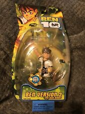 "Ben 10 Classic Ben Tennyson (Ver 2) 6"" DNA Alien Hero Figure Bandai 2007"