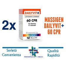 MASSIGEN DAILYVIT+ 60CPR INTEGRATORE MULTIVITAMINICO OFFERTA 2 CONFEZIONI