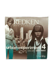 Redken Urban Experiment 4 Grit Wax All Hair Types/Shine/Gloss Maximum Hold 1.7oz