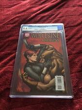WOLVERINE ORIGINS #9 VARIANT COVER CGC9.4