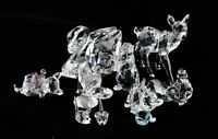 Lot of Retired Swarovski Silver Crystal Animal 9 Figures Total, Great Condition!