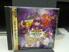 Sega Saturn PRINCESS CROWN Japan SS