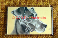 Great Dane Gift Dog Art Fridge Magnet 77x51mm Birthday Gift Mothers Day Gift