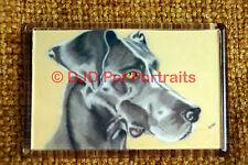 Great Dane Gift Dog Art Fridge Magnet 77x51mm Birthday Gift Xmas Stocking Filler