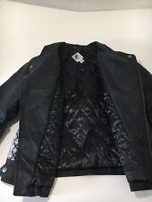 Volcom Women's Moto Full Zip SIIN Jacket Black Size L