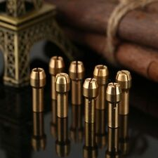 4PCS Brass Collet Pin Vise Dia: 1.0mm 1.6mm 2.4mm 3.2mm Rotary Tool For Grinder