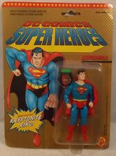 DC Super Heroes Superman Figure Kryptonite Ring MOC ToyBiz Super Powers 1989
