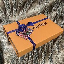 100% authentic LOUIS VUITTON GIFT BOX EMPTY LV box orangemagnetic 30.5*21*5.5cm