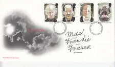 MAD FRANKIE FRASER HAND SIGNED TALES OF TERROR FIRST DAY COVER