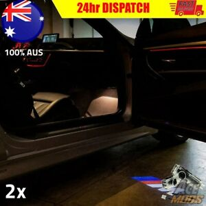 2x Courtesy Puddle Door Lights Projector Light for BMW 1 2 3 4 5 Series X M AUS