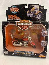 Harley Davidson Custom Shop FLSTF Fat Boy Scale 1:20 Die-Cast Motorcycle Red