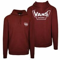 Vans Off The Wall Men's Maroon Classic Pullover Hoodie (S09)