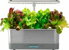 AeroGarden - Harvest Elite Slim - Heirloom Salad - Stainless