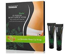 5 Body Wraps 2 Defining Gel Ultimate Applicators it works to Tighten Slim Tone