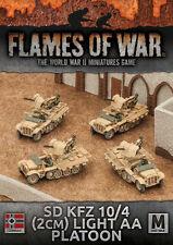 Flames of War BNIB Sd Kfz 10/4 (2cm) Light AA Platoon GBX94