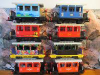 2 Playmobil LGB BREMSKEILE 4106 4034 Ersatzteil Western Lokomotive Steaming Mary