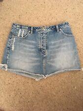 Next Denim Mini Skirt 10 Petite