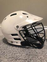CASCADE Lacrosse Helmet Adjustable SPR FIT Size Adult S/M/L CLH2 WHITE