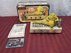 Star Wars Vintage 1983 Kenner ROTJ Jabba The Hutt Action Playset