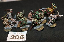 Games Workshop Warhammer Chaos Plaguebearers of Nurgle x10 Sigmar Painted Army