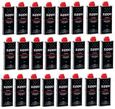 More details for original zippo premium lighter fuel fluid 125ml genuine flints & genuine wick
