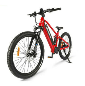 Electric Mountain Bicycle 27.5inch Powerful Bike 750W Motor Cell Battery 8 Speed
