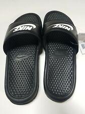 Nike Men's Benassi JDI Slide Black/White Size 8
