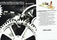 PUBLICITE ADVERTISING 027  1978  Rank Xerox 800 (2p)  machine à mémoire la Margu