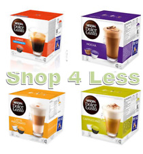 Dolce Gusto Pods - 4 Flavours! (Latte - Cappuccino - Mocha - Lungo Decaf)