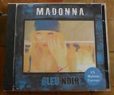 MADONNA - Bleu Noir (VS Mylène Farmer) CD RARE FAN EDITION, Very good!
