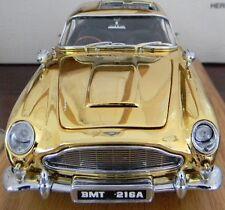 1 Exotic Vintage Car Sport Aston Martin Race GT Rare Carousel Gold 18 Metal 24