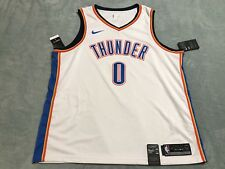Nike Russell Westbrook Dri-FIT Swingman Jersey Men s sz XXL 2XL White  864437 100 05fb28a773e