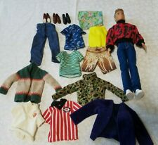 Lot #4 Of Ken doll plus other brands Clothing Ken doll shoes jeans shirts