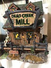 "Dept 56 Snow Village Halloween #56.54715 ""Dead Creek Mill�"